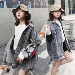 女童牛仔马甲春秋外穿洋气2020年新款韩版潮流百搭女中大童时髦潮