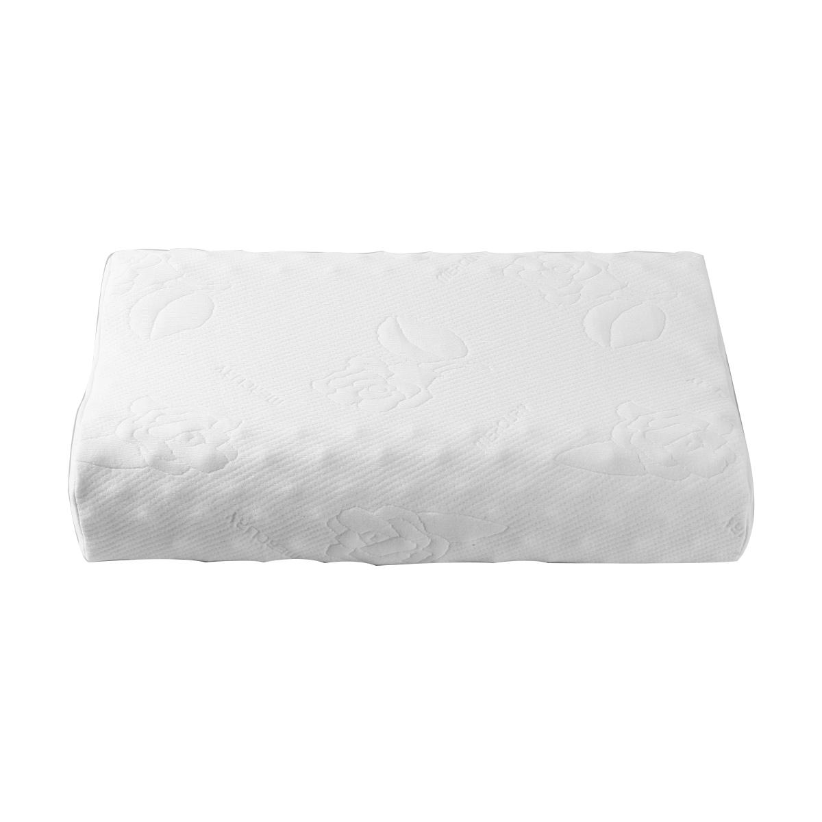 水星家纺乳胶枕芯一只装正品护颈成人睡眠枕头乳胶分区按摩枕228.00元包邮