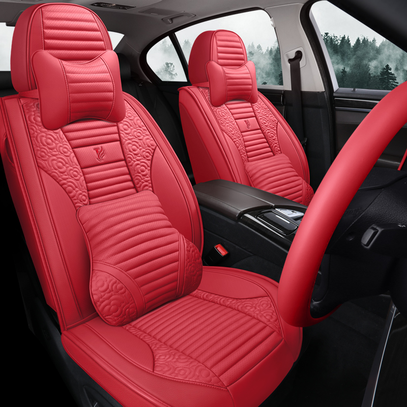 2019 Xingtu TXL seat cover special four seasons special vehicle cushion cover leather full package breathable seat cover