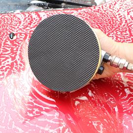漆面气动去污盘磨泥盘美容粘土去铁粉飞漆汽车清洗品洗车泥磨泥块图片