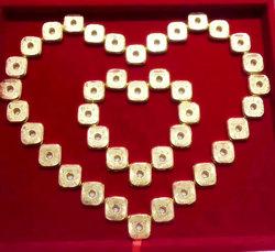 新款时尚结婚缠腰四方进宝镀金片腰缠新娘万贯金币