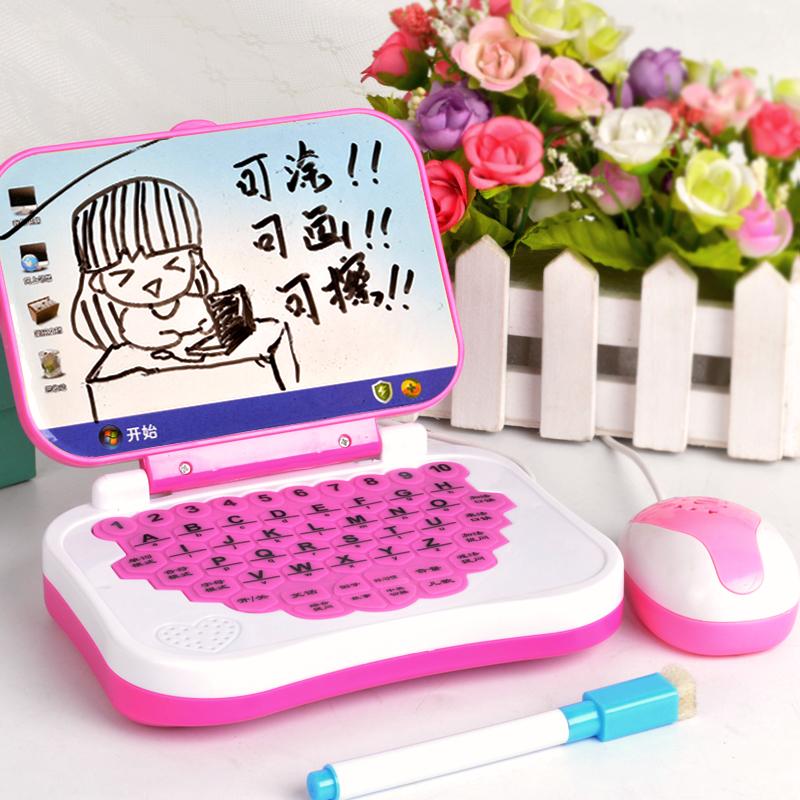 早教点读机电脑机益智故事灯光音乐学习机婴幼儿宝宝儿童平板玩具