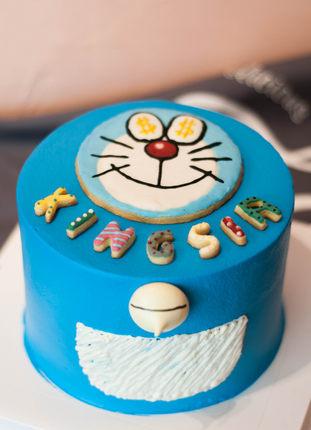 [King's Blue钴蓝甜品]成都 童年的叮当猫哆啦A梦 机器猫蛋糕