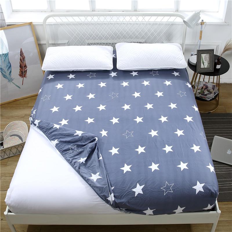 床笠单件床罩保护套防尘罩床套席梦思 床垫套1.8m1.5m1.2防滑床单