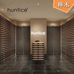 摆红酒瓶的架子仓储大型储存酒窖落地靠墙红酒架展示架
