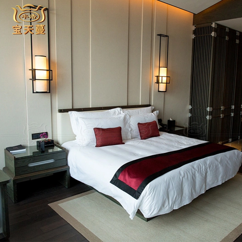 New Chinese star hotel suite furniture made by Guangdong factory