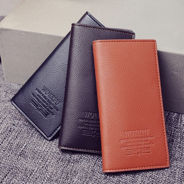 10 yuan boys boutique fashion bag trendy youth new Long Wallet mens multi card students Wallet