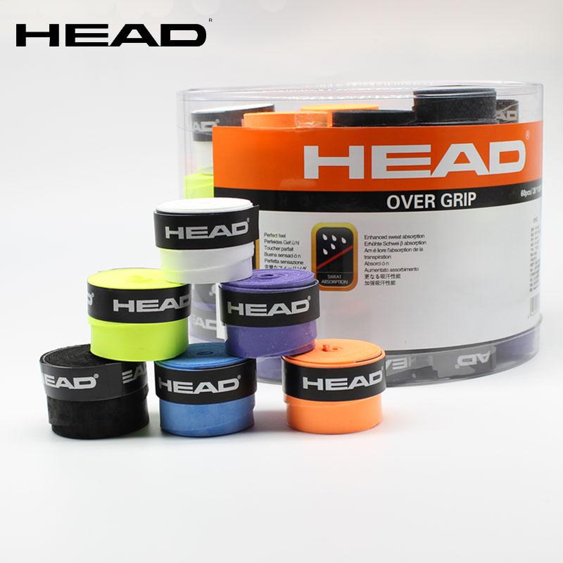 Новый HEAD/ гайд теннис бить бадминтон бить поставить резиновая рука клей пот полосы рука скольжение обрабатывать кожа 6 костюм