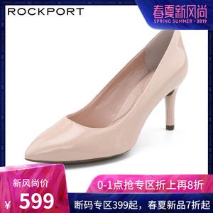 领150元券购买Rockport/乐步商务女鞋婚鞋漆皮时尚舒适尖头高跟鞋