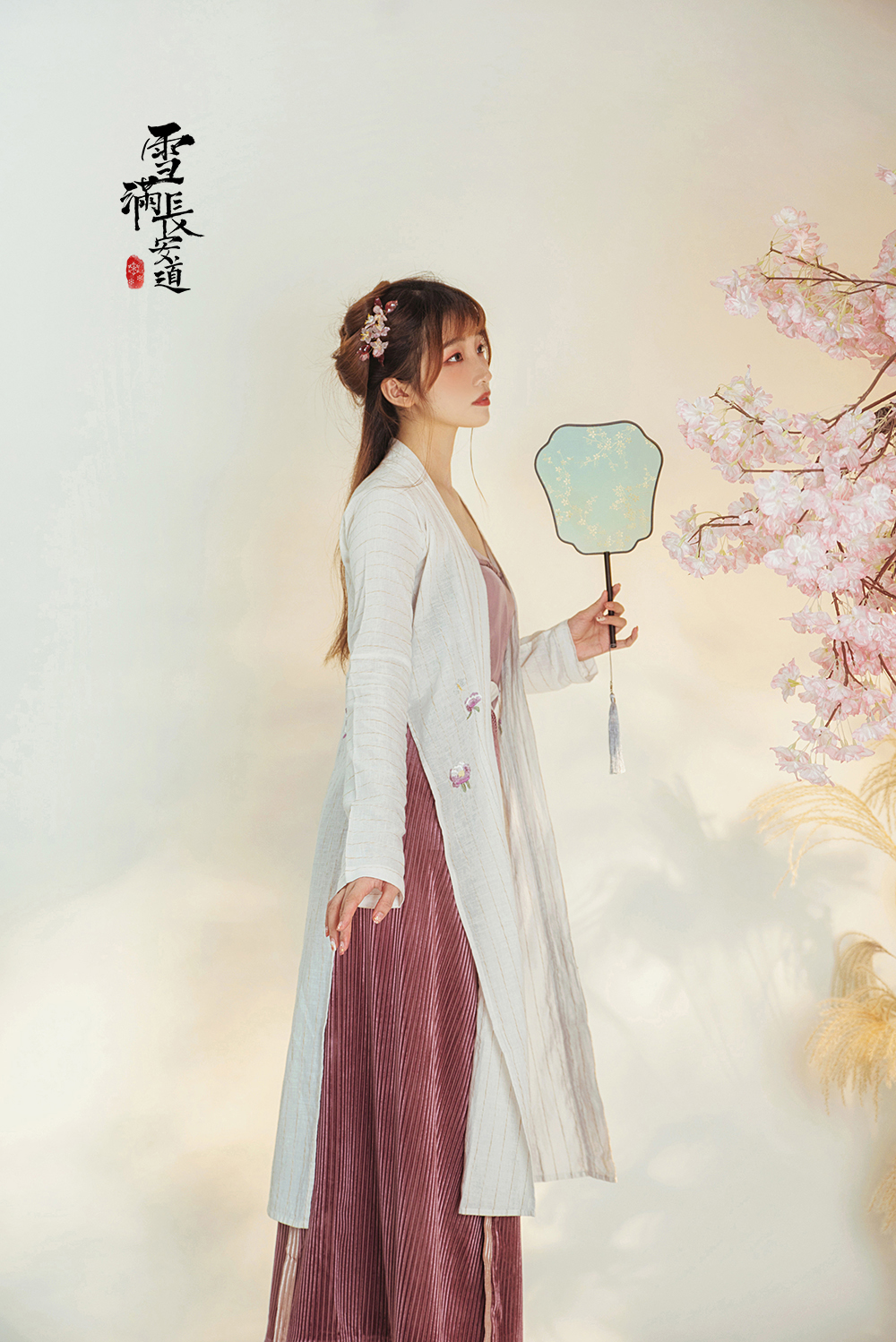 [Warehouse Clearance promotion] snow covered Changan Road, song Han costume, traditional dress, song total waist, two pieces of skirt, song spin skirt, Beizi