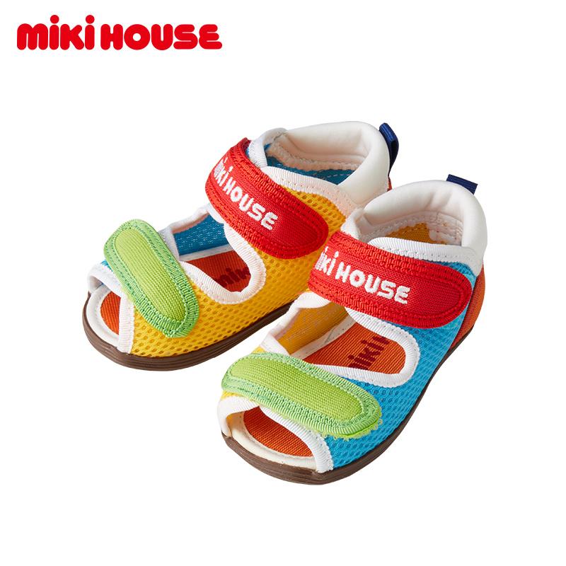 mikihouse透气二段学步款舒适凉鞋好不好