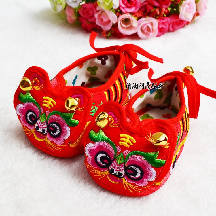 Каждый день специальное предложение 】 ребенок ткань обувная стеллер обувной тигр обувной мужской и женщины ребенок стеллер обувной весна лето малыш обувь