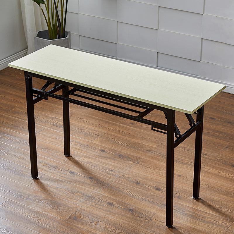 长方形折叠桌培训桌子摆摊桌子餐桌学习桌电脑桌家用桌子美甲桌11-05新券