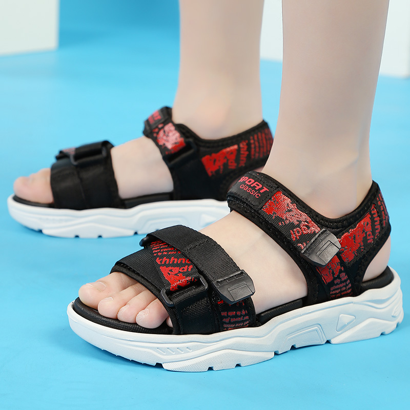 Summer childrens quick drying sandals 5 fashionable and versatile 6 middle school children 7 primary school students 8 soft bottom anti slip 10 light beach shoes