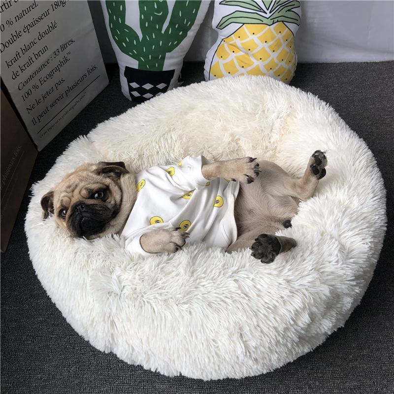 ネットの赤い犬小屋の巴哥の犬の法斗の深さの睡眠の犬小屋の心地良さの柔軟な小型犬小屋の猫の巣のペットの用品