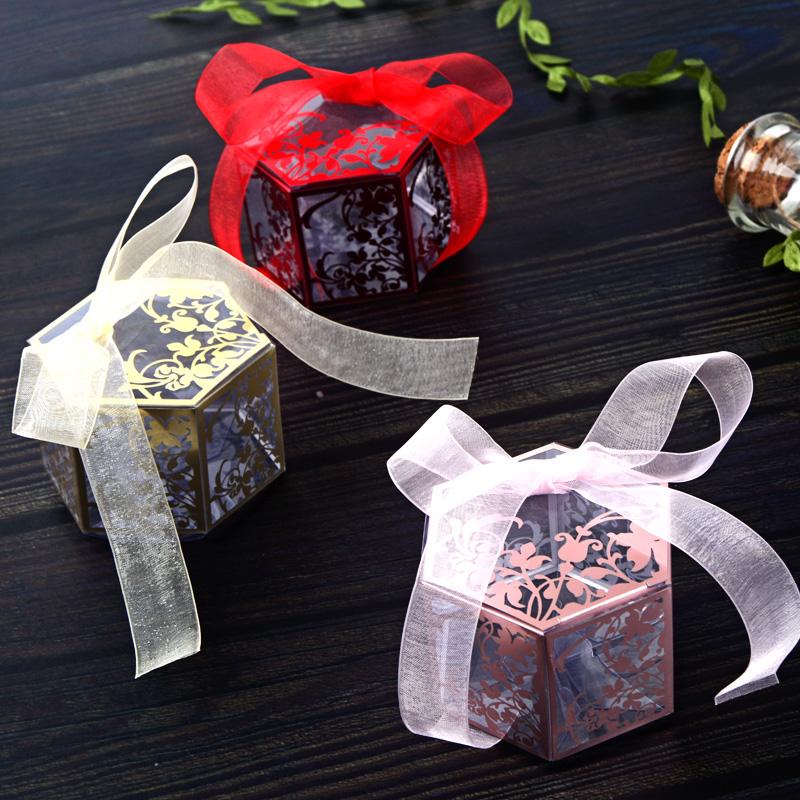 インス風洋菓子箱結婚式透明菓子セット創意結婚式用品のお土産に、お土産とお菓子箱をプレゼントします。