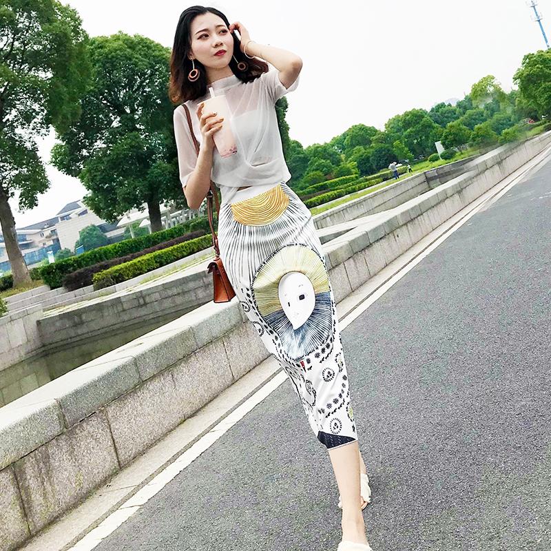 2020新款韩版连衣裙女夏长款裙子仙女超仙森系显瘦气质长裙两件套图片