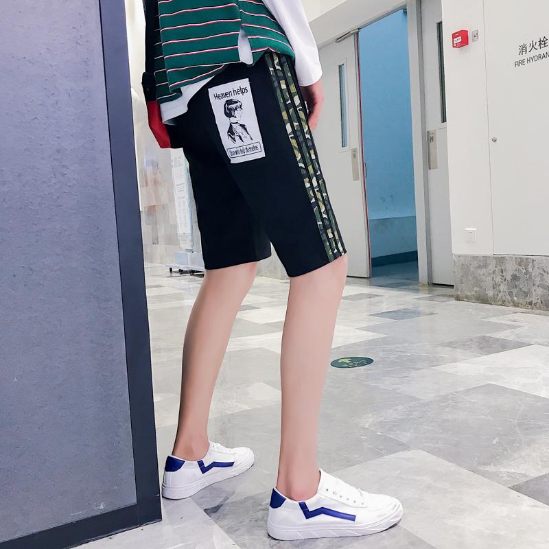 【断码优品】满48元包邮◆2018夏季新款男装学生青少年五分裤