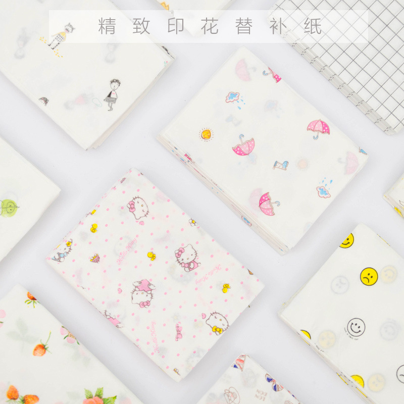 Banbu car uses printed paper towel to replace paper, colored face towel paper, patterned napkin, creative toilet paper 10 packs