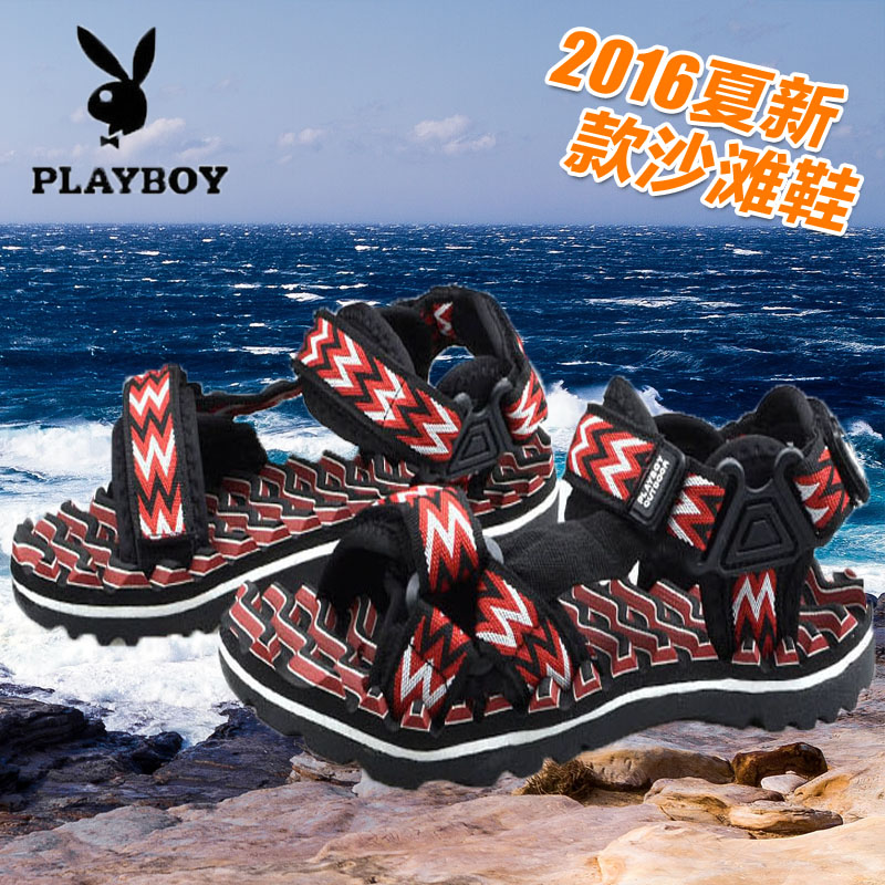 Playboy summer new low top mesh shoes breathable wear resistant shoes authentic mens mesh shoes trend