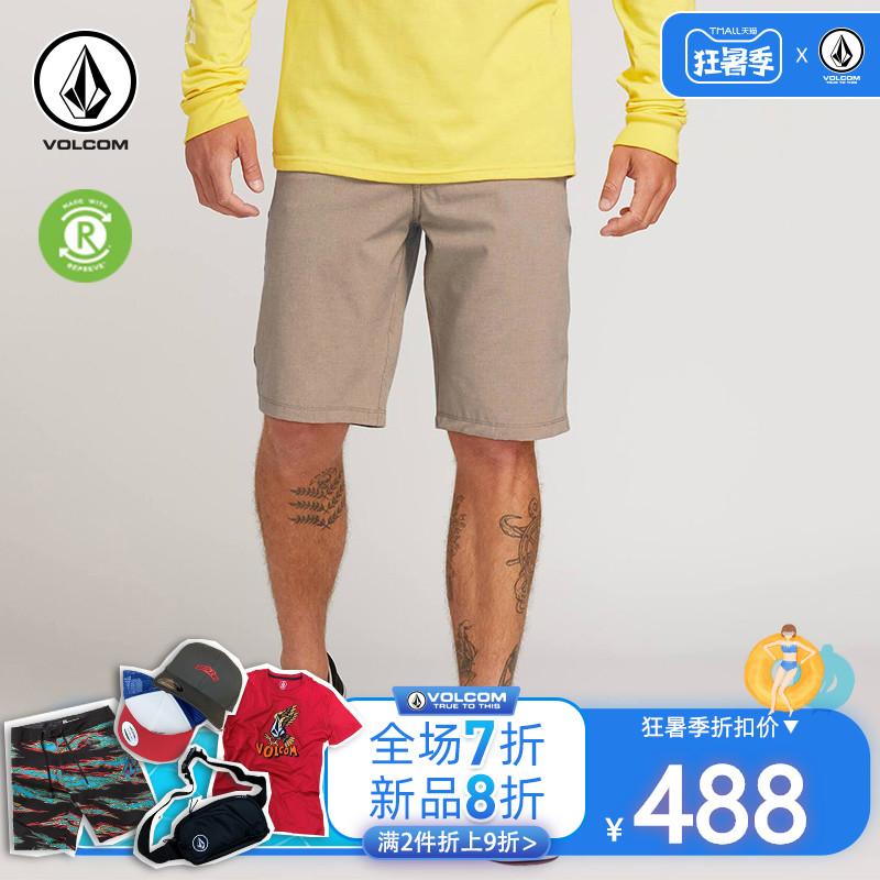 VOLCOM短裤男夏季新品时尚修身沙滩裤欧美潮流工装裤休闲裤五分裤
