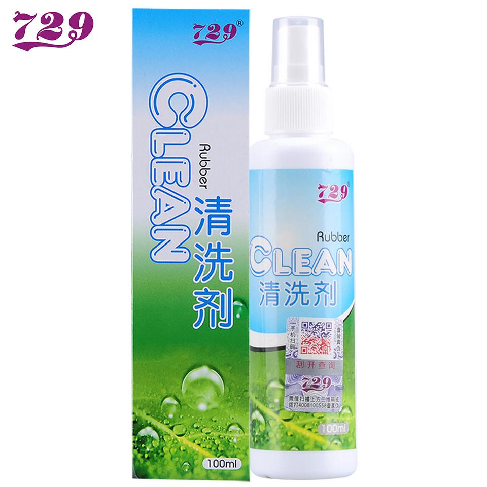 Дружба 729 Ping Pong Rubber Rubber Cleaner Резиновая губка Tackifying Cleanser 100ML один бутылка оригинал
