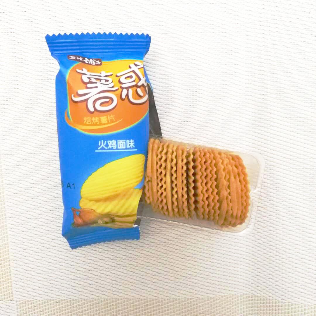 塩津店芋惑焙煎ポテトチップス500 g韓国式キムチ味美味しい非揚げカジュアルスナック菓子