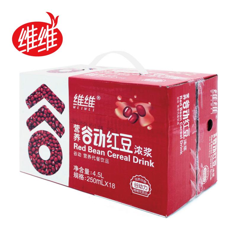 ~蘇寧易購~維維穀動紅豆濃漿 250ML^~18