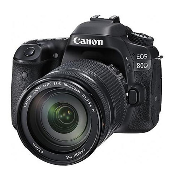 SLR Camera Canon / Canon EOS 80D (18-200mm) HD digital camera tourism SLR