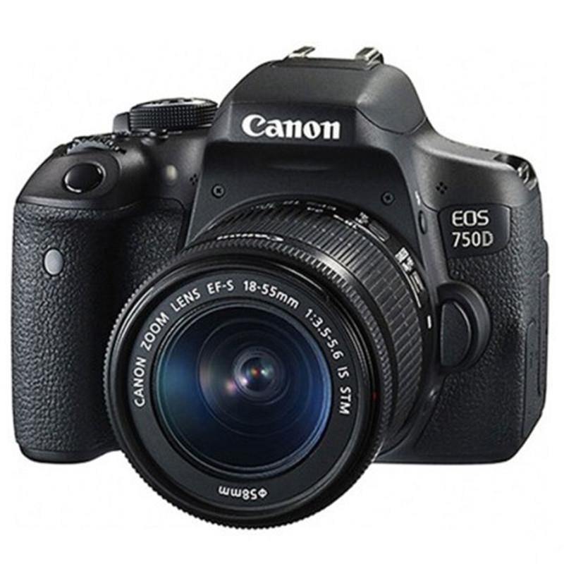 单反相机Canon/佳能EOS 750D(18-55STM)套机高清数码单反照相机