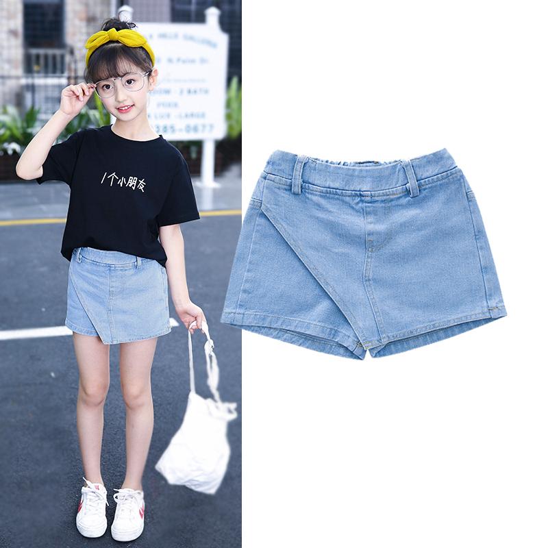 中大童女童短裤