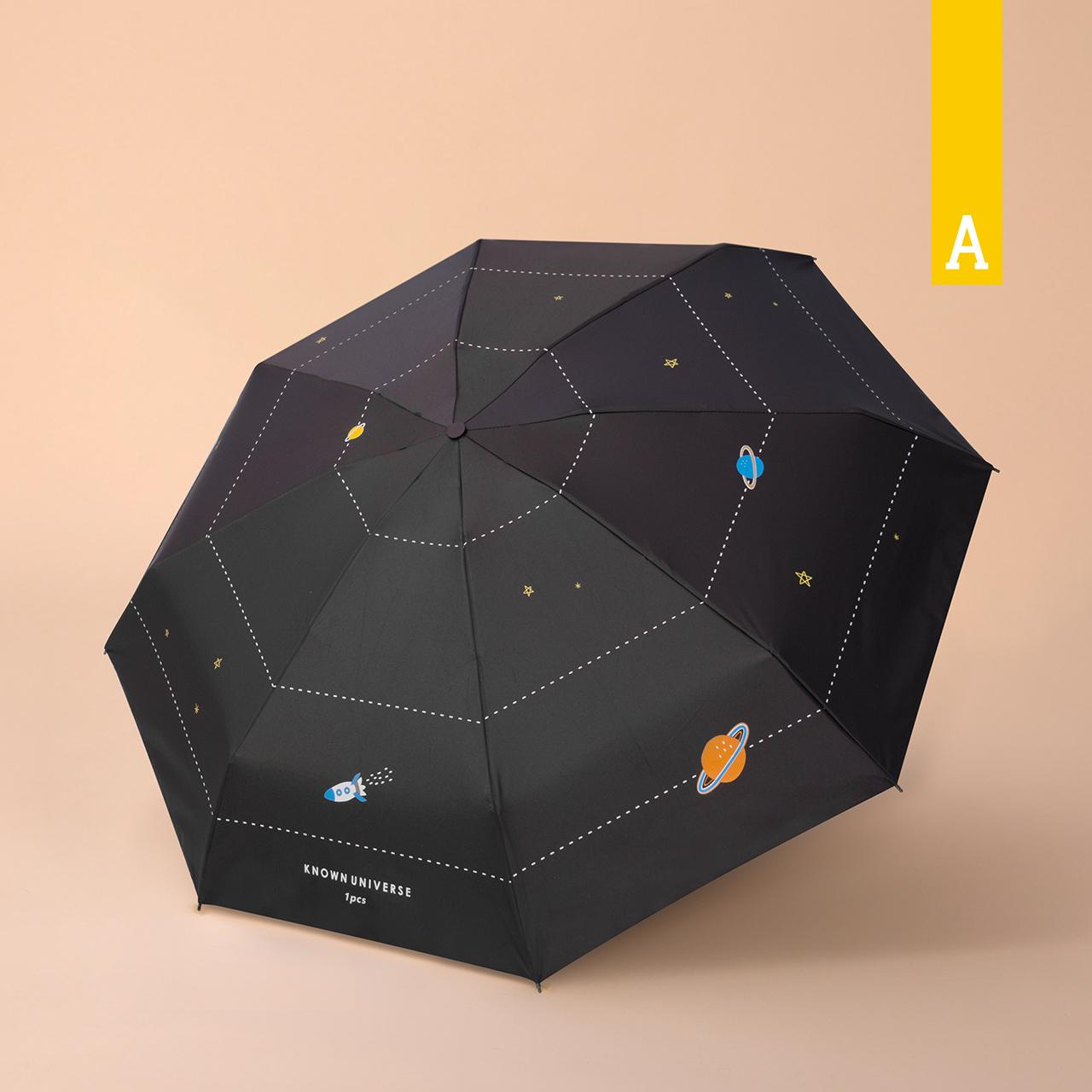12月02日最新优惠acooltd五折折叠黑胶女小巧太阳伞