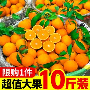 领1元券购买新鲜当季整箱10斤应季手剥冰糖橙