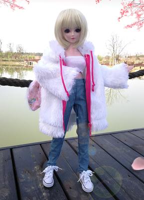 夜萝莉娃娃美人鱼换装古装洋娃娃衣服配件60厘米女孩礼物婚纱玩具