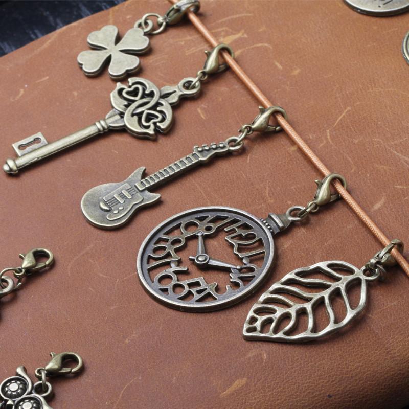 TN путешественник рука проводка это металл DIY монтаж кулон кулон ретро литература и искусство свежий подвески бронзового цвета декоративный