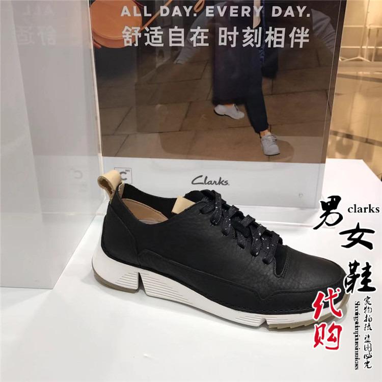 2020春季新款其乐代购女鞋Tri Spark休闲透气系带平底单鞋