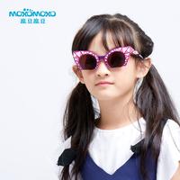 魔豆儿童太阳镜男童女童个性防紫外线正品宝宝眼镜墨镜男女韩版潮