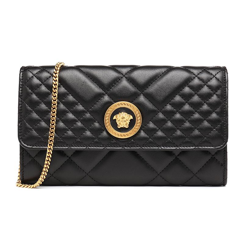Versace/范思哲 18新款美杜莎女士背提��l包女包1 DBSG377DNATR