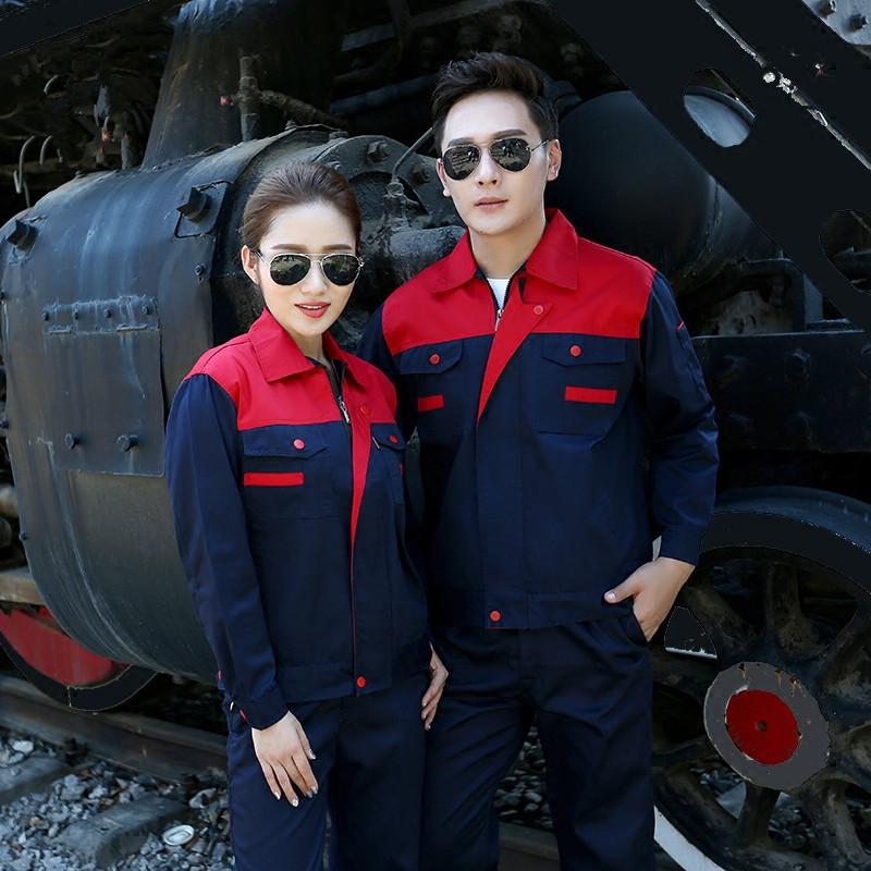修理ステーションの工事服制服化学工場の企業現場の従業員の服装冬の特殊作業防護服