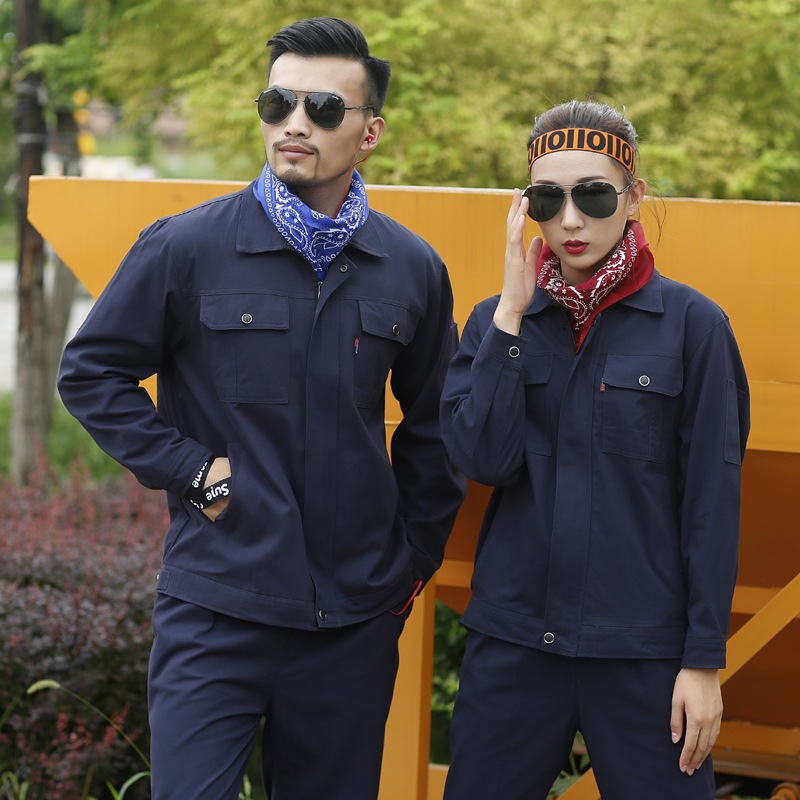 Winter engineering uniform automobile club repair tooling logistics express employee clothing workshop electrician clothing