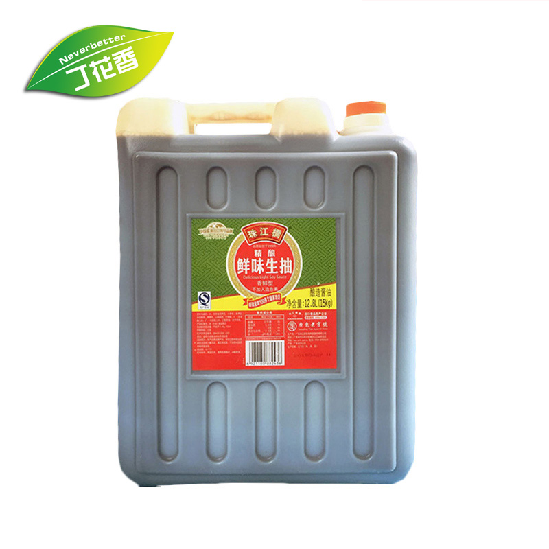 珠江桥精酿鲜味生抽 15KG桶装酱油 餐饮装 肠粉酱油