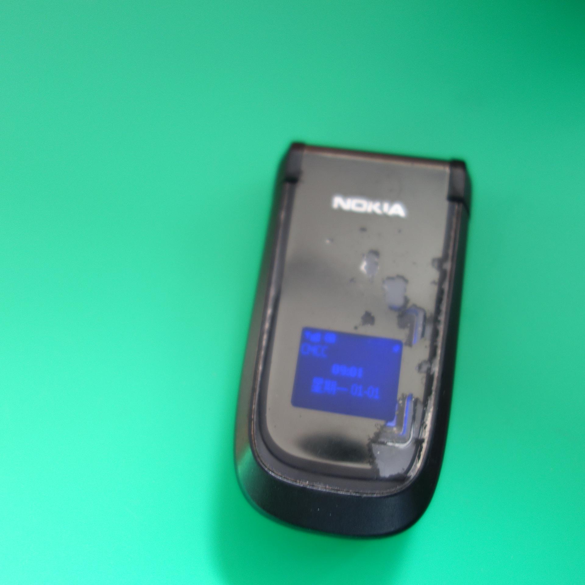 原装诺基亚2660手机二手诺基亚2660翻盖彩屏诺基亚备用机老年机