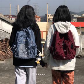 书包女初中生ins风韩版原宿学院森系2020新款大容量背包男双肩包
