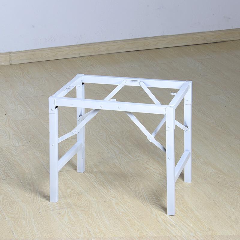 长方形高约60cm桌子腿支架折叠桌腿 折叠架 桌架子桌腿支架餐桌脚