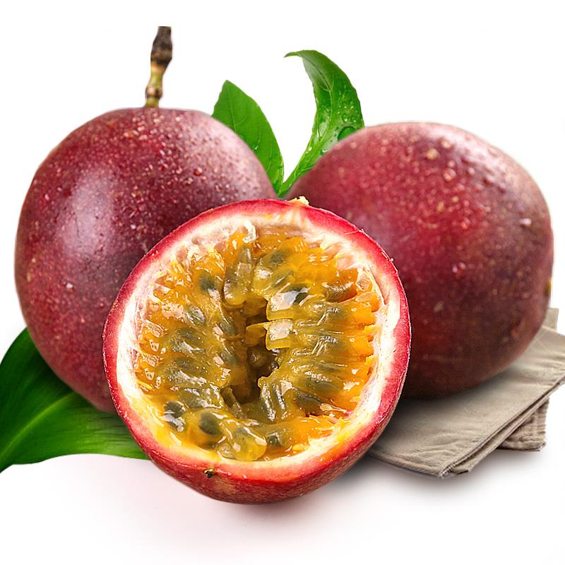 现摘当季赣南百香果5斤中果装包邮自家果园直发新鲜孕妇可口水果29.90元包邮
