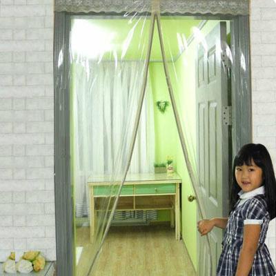 定制塑料软门帘透明磁性空调门帘防风保暖隔热防蚊厨房防油烟隔断
