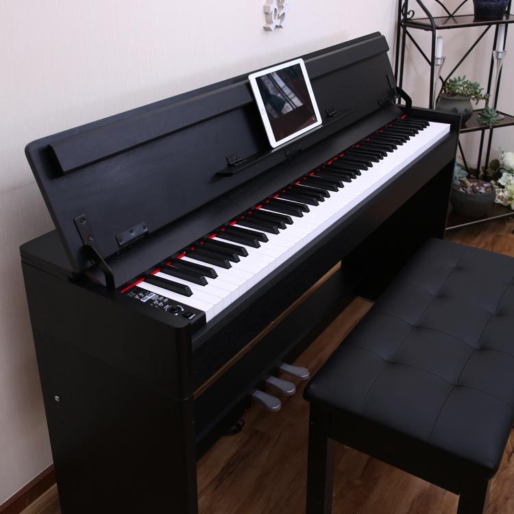 Электричество пианино 88 связь вес молоток для взрослых больше швейцарский прекрасный специальность домой умный ребенок электроорган новичок электричество пианино