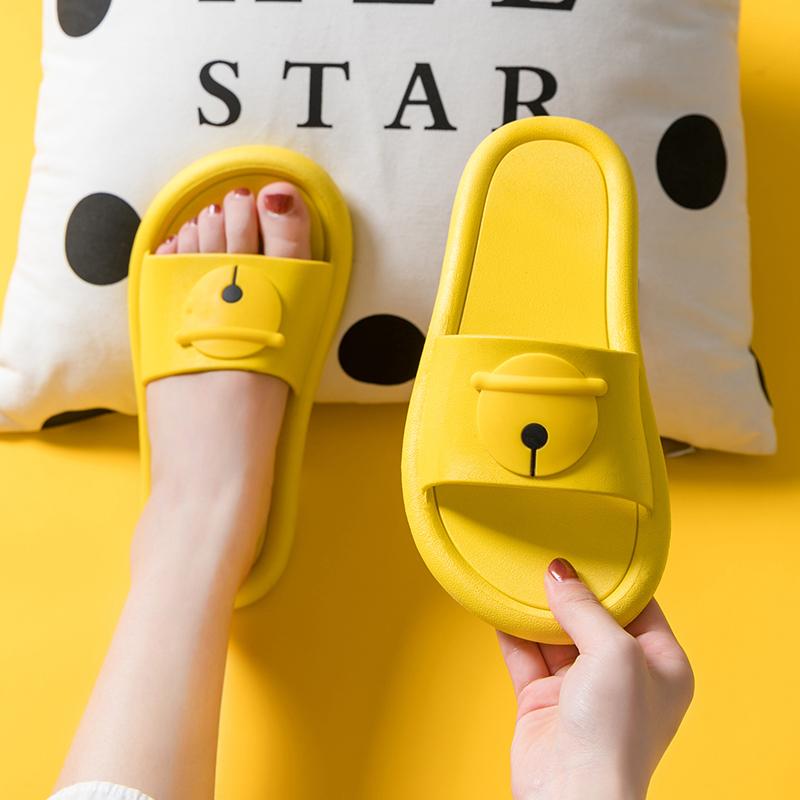 拖鞋女夏天2020新款室内防滑浴室内家居家用ins潮可爱凉拖鞋外穿图片