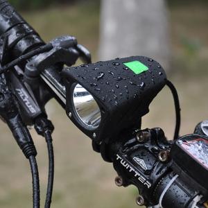 自行车灯山地车前灯强光夜骑行装备USB充电死飞单车<span class=H>配件</span>T6车前灯