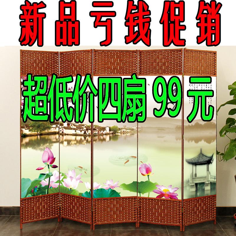 Экран отрезать легко сложить гостиная вход стена мобильный сложить экран современный просто мода офис комната дерево китайский стиль